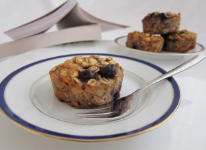 These muffins make a fabulously healthy snack